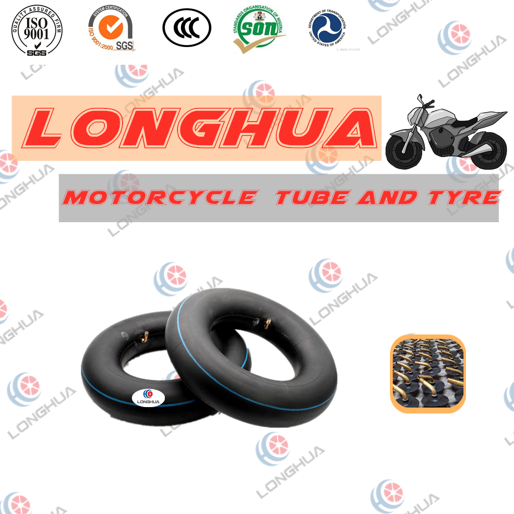8 Inch motorcycle natural butyl tube /motorcycle tyre (4.00-8)
