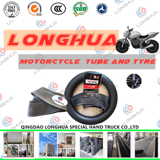 ISO CERTIFICATE MOTORCYCLE NATURAL RUBBER TUBE (3.00-18)