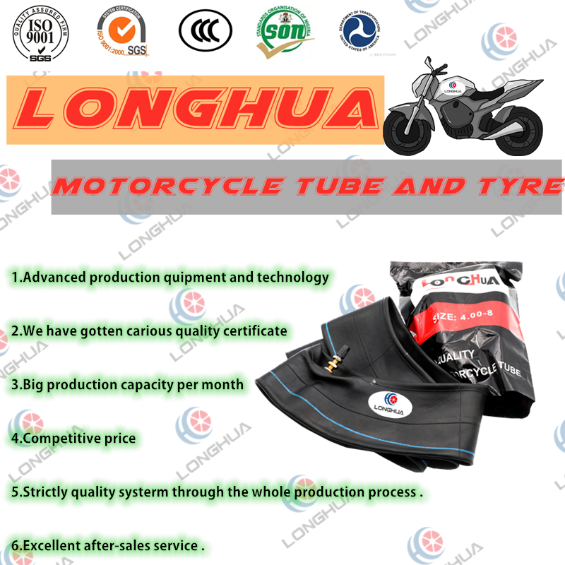 18 Inch OEM New Natura Rubber Motorcycle Inner Tube (275-18) with ISO